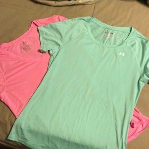 2 like new DriFit Workout Shirts Under Armour